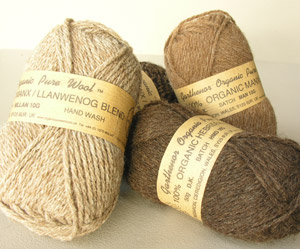 garthenor organic pure wools