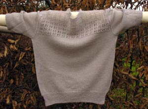 lace knit woollen