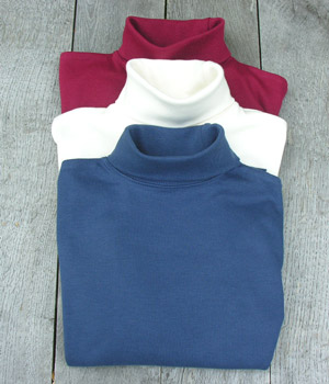 organic cotton rollnecks
