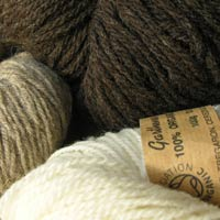 skeins of pure wool